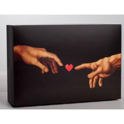 Складная коробка Love - 16 х 23 см.